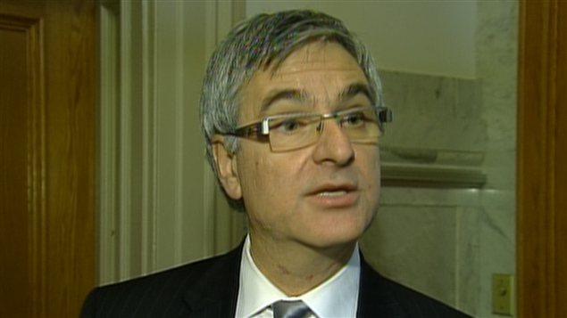 Jean-Marc Fournier, chef par intérim du Parti libéral du Québec