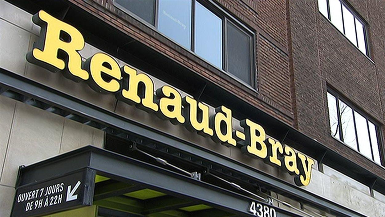 Librairie Renaud-Bray, rue St-Denis à Montréal