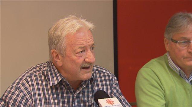 Gilles Bedard, président du Regroupement des retraités de la Stadacona
