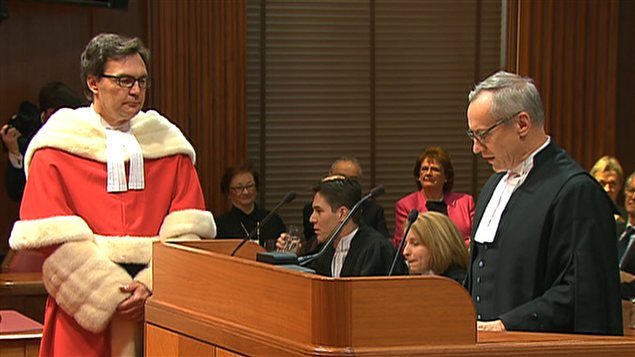 Le juge Richard Wagner fait son entrée officielle à la Cour suprême du Canada
