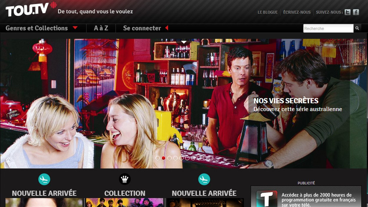 Le site TOU.TV