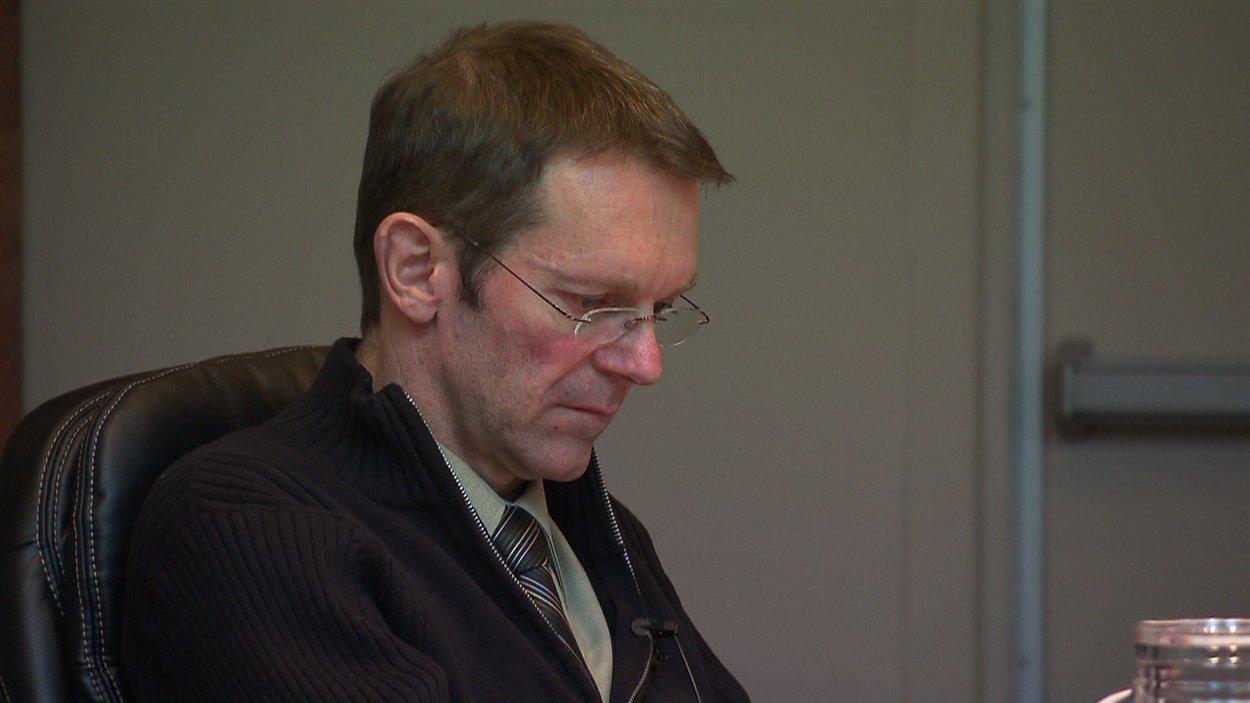 Robert Smith, au conseil municipal du 3 décembre à Chandler