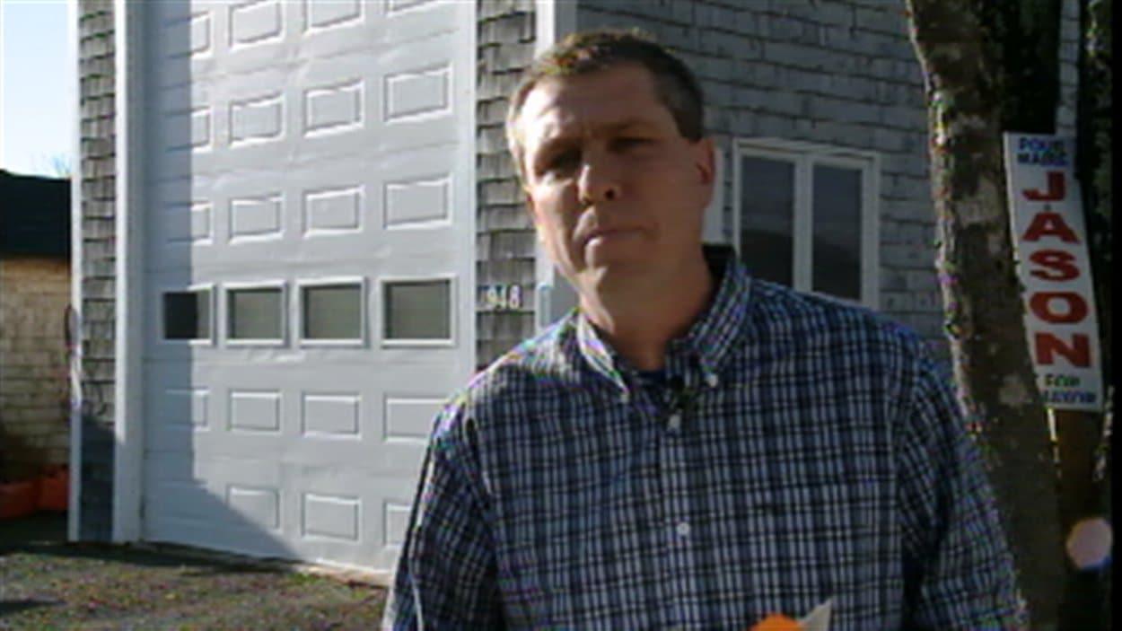 Jason Carter, maire démissionnaire du village de Charlo, N.-B.
