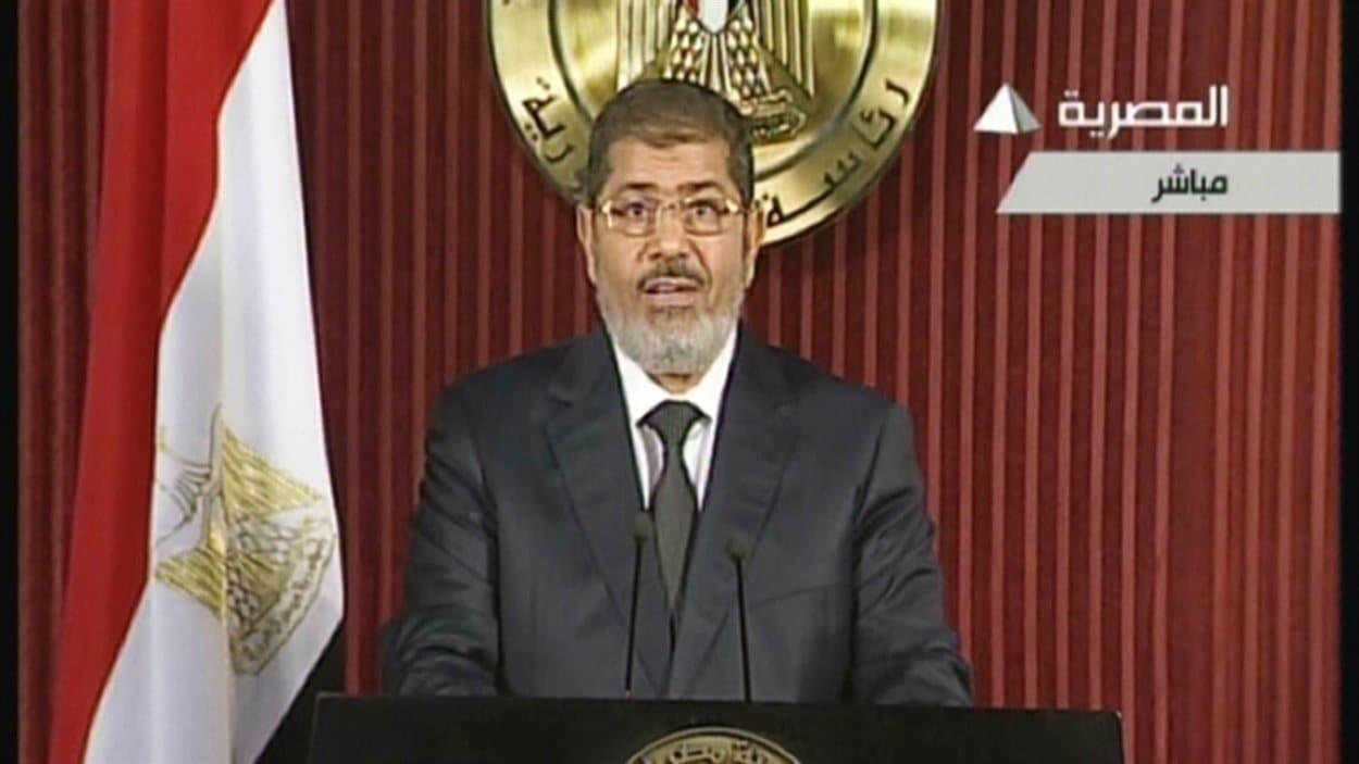 Le président Mohamed Morsi