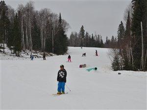 Ouverture de la saision de ski au Mont Vidéo