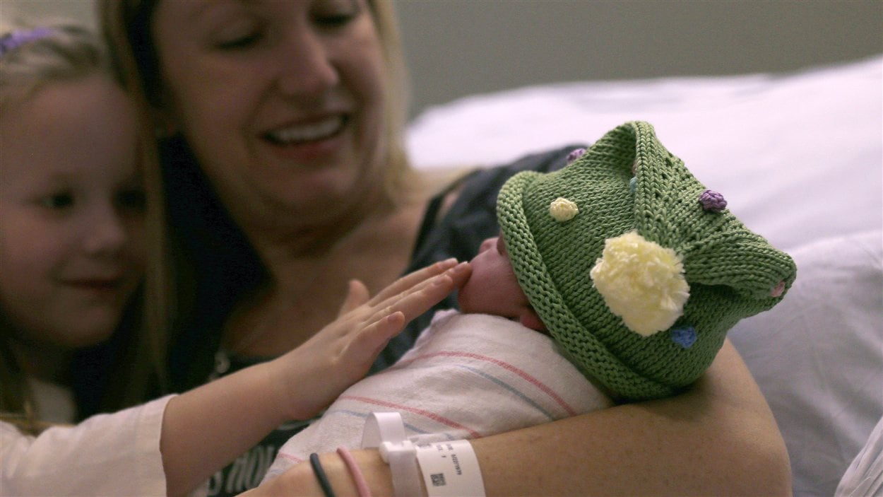 Noelle Joy Klinker est née au Massachusetts à 12 h 12 le 12 décembre 2012.