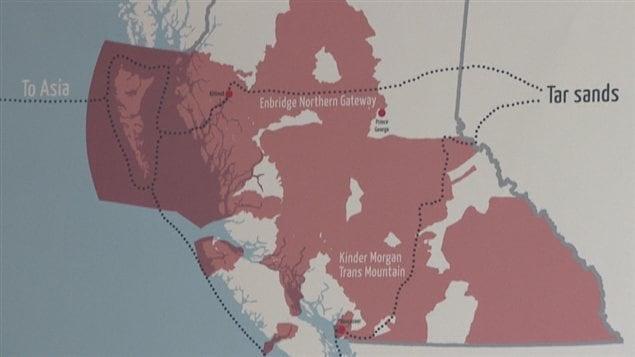 territoire autochtone pipeline