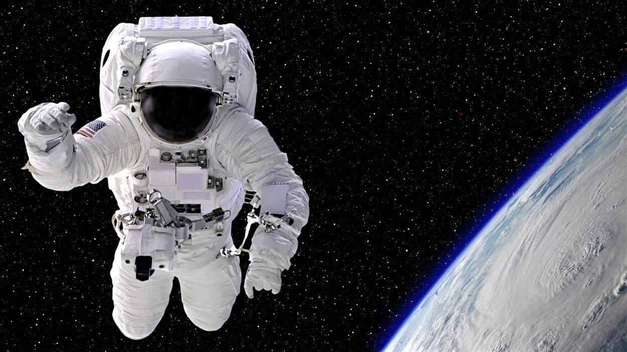 Un astronaute / @ inhauscreative, iStockphoto