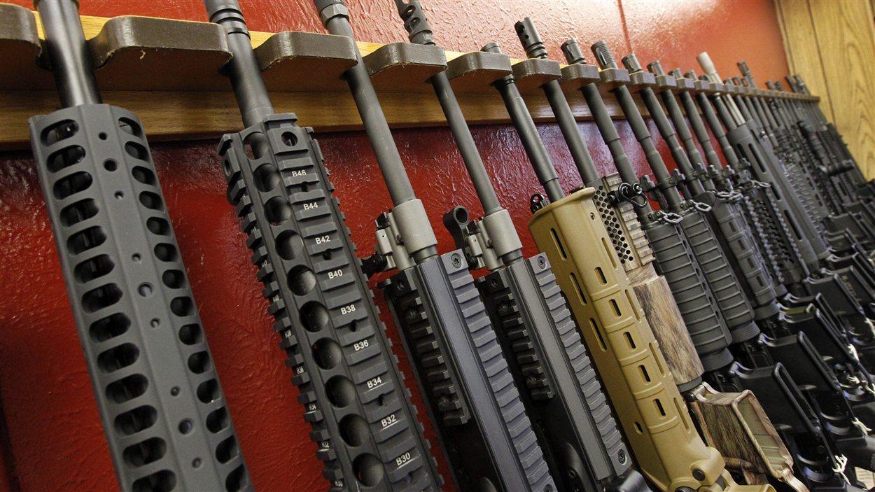 Magasin d'armes à feu aux États-Unis