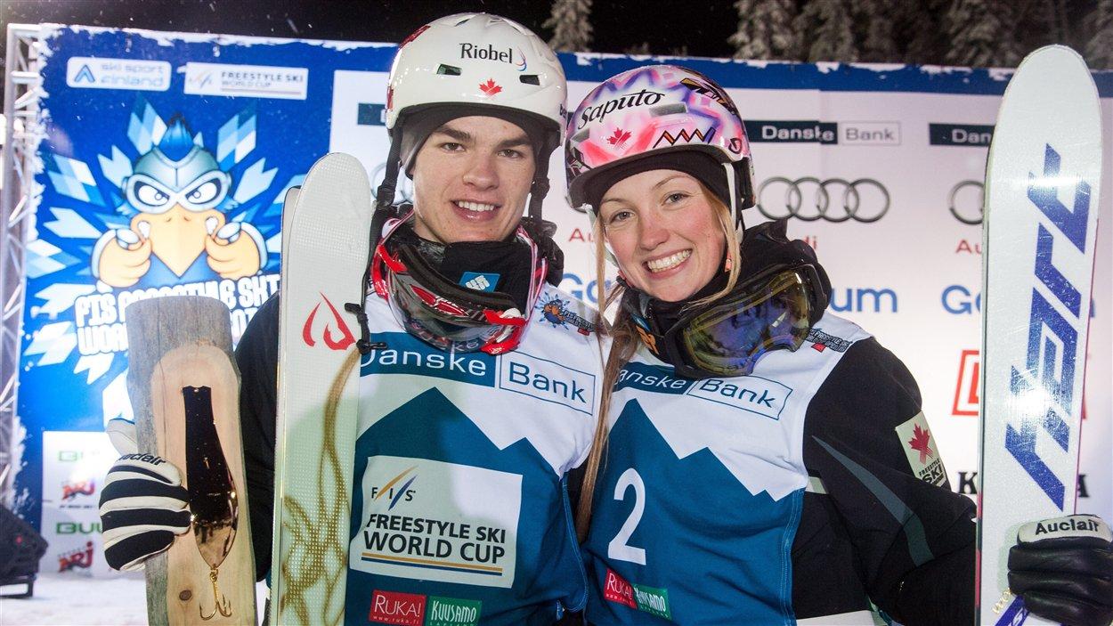 Mikael Kingsbury et Justine Dufour-Lapointe