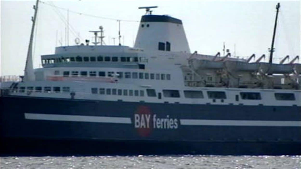 Un traversier de Bay Ferries