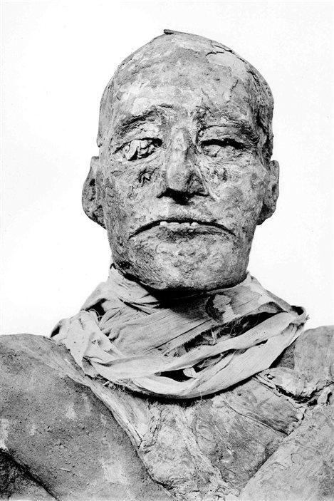 La momie de Ramsès III.