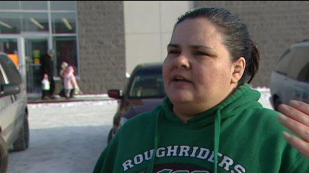 Michelle-Ray McKay, avant son départ de Regina en autocar pour se rendre à Ottawa, dans le cadre du mouvement Idle No More, le 19 décembre 2012.