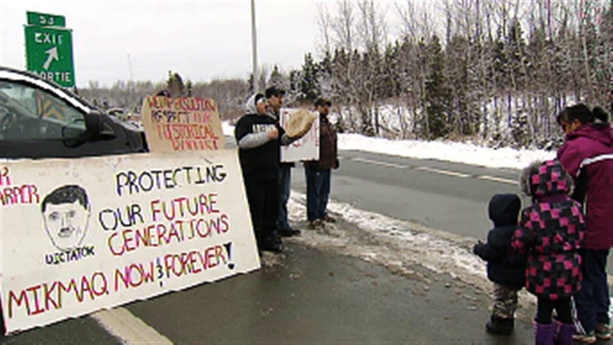 Manifestations autochtones dans les Maritimes