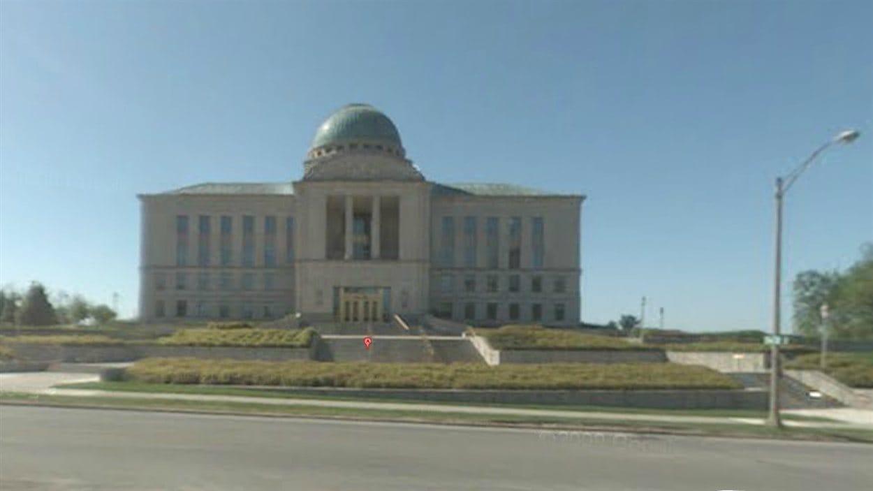 La Cour suprême de l'Iowa, dans la capitale de l'Etat, Des Moines