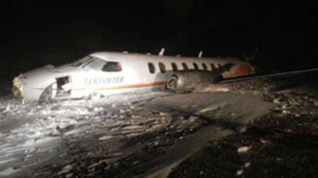 La GRC confirme que la boîte noire de l'avion qui s'est écrasé samedi en soirée au Nunavut a été retrouvée