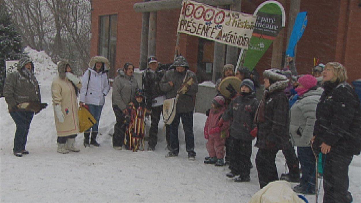 Les Hurons-Wendats se joignent au mouvement Idle No More