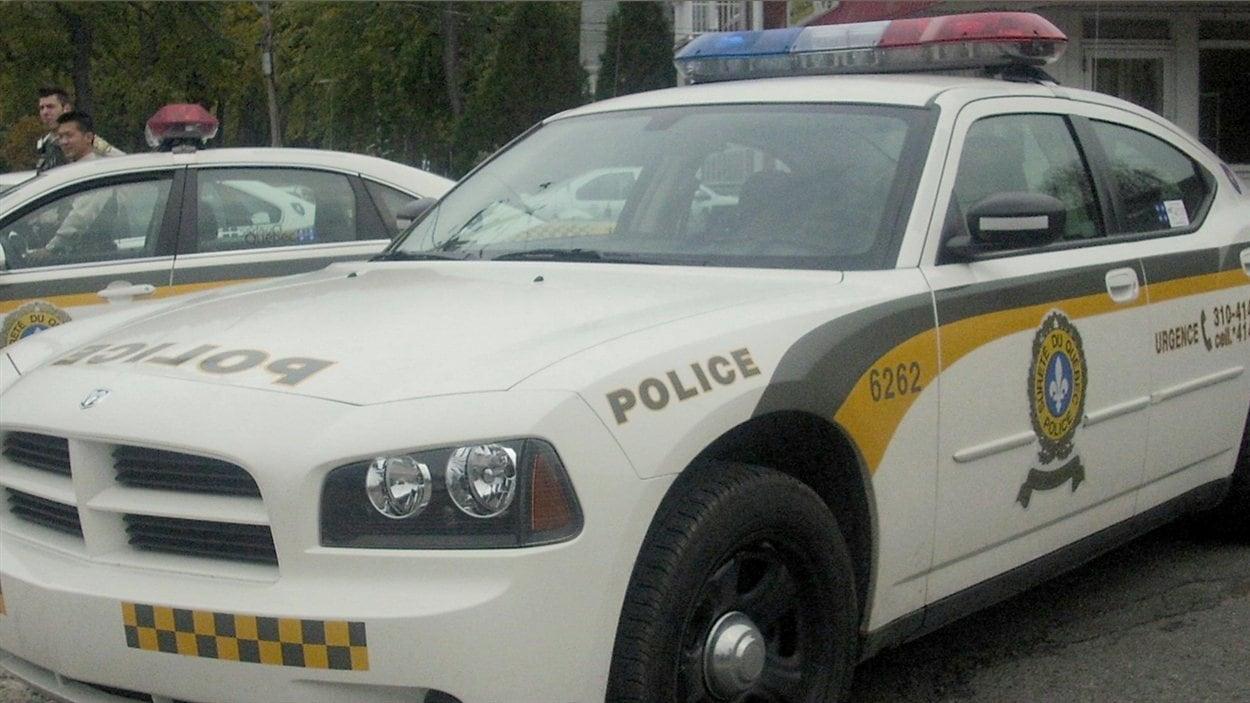 Une voiture de la Sûreté du Québec