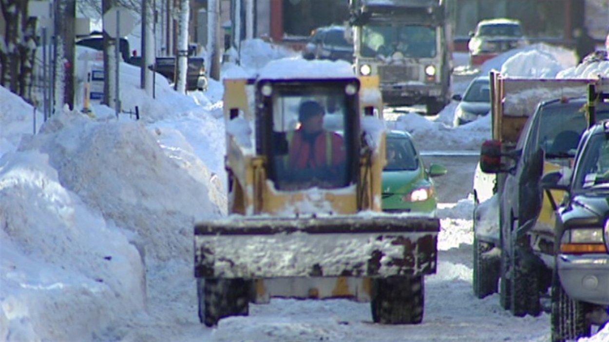 Le ramassage de la neige débutera le 2 janvier à Sherbrooke.