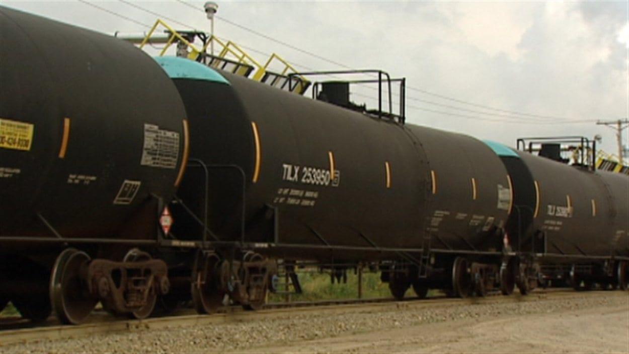 Transport de pétrole par train