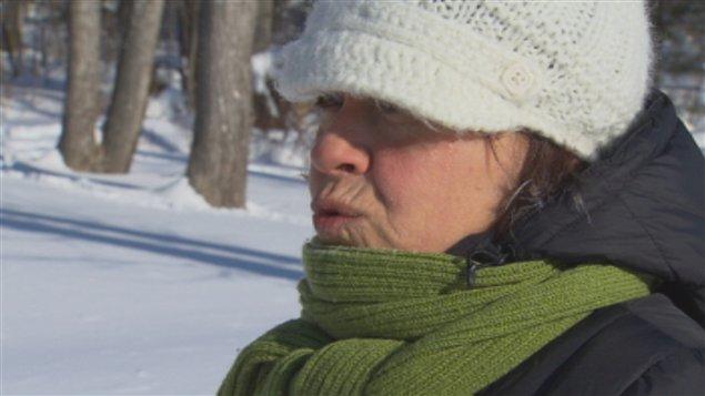 Linda Côté, une citoyenne de Shipshaw qui souhaite réhabiliter la source
