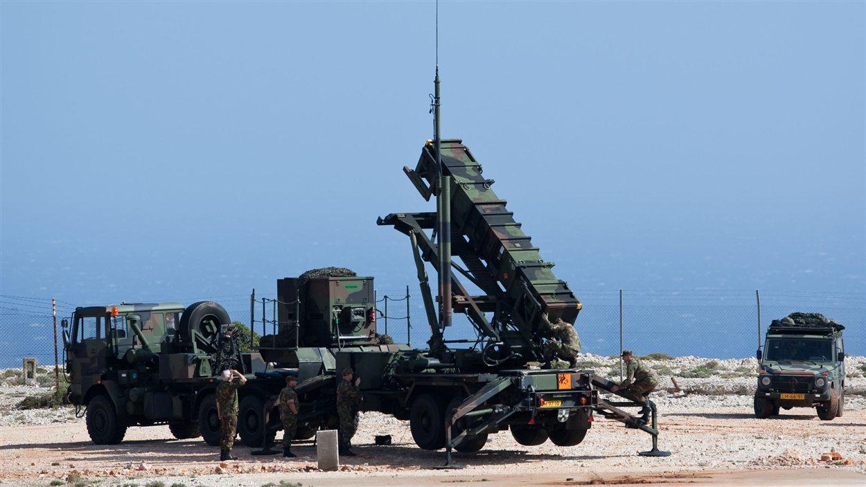 Station de lancement de missiles patriotes (Archives de l'OTAN)