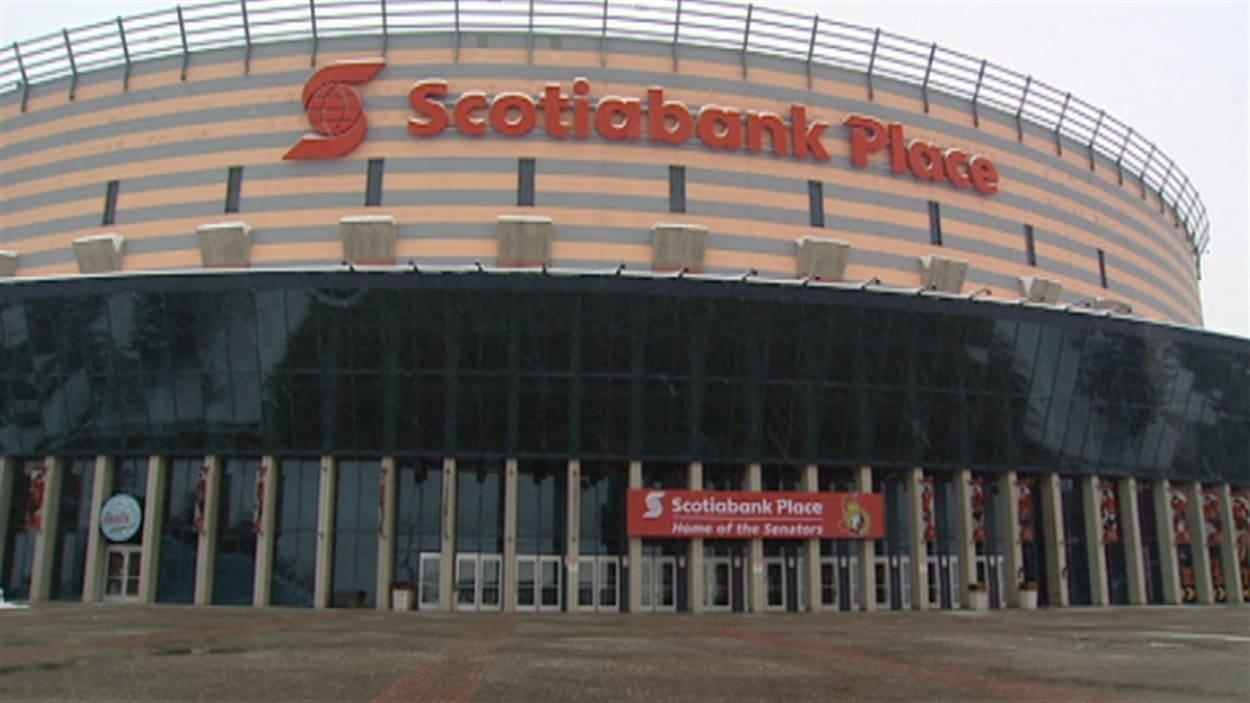 La Place Banque Scotia à Ottawa va de nouveau accueillir les Sénateurs.