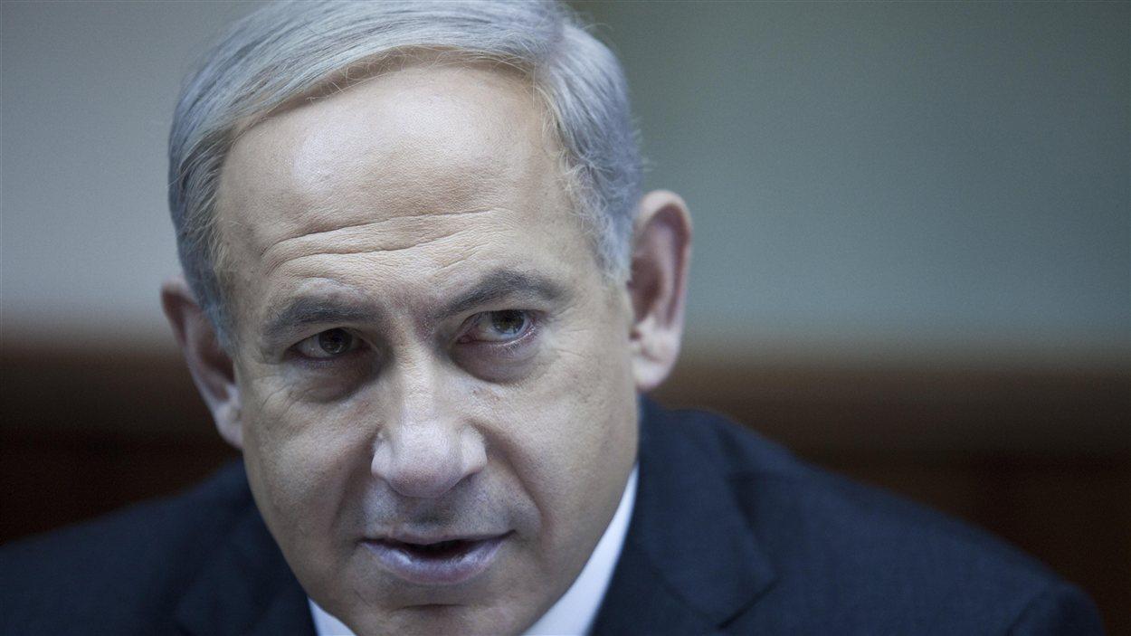 Benyamin Nétanyahou, premier ministre israélien