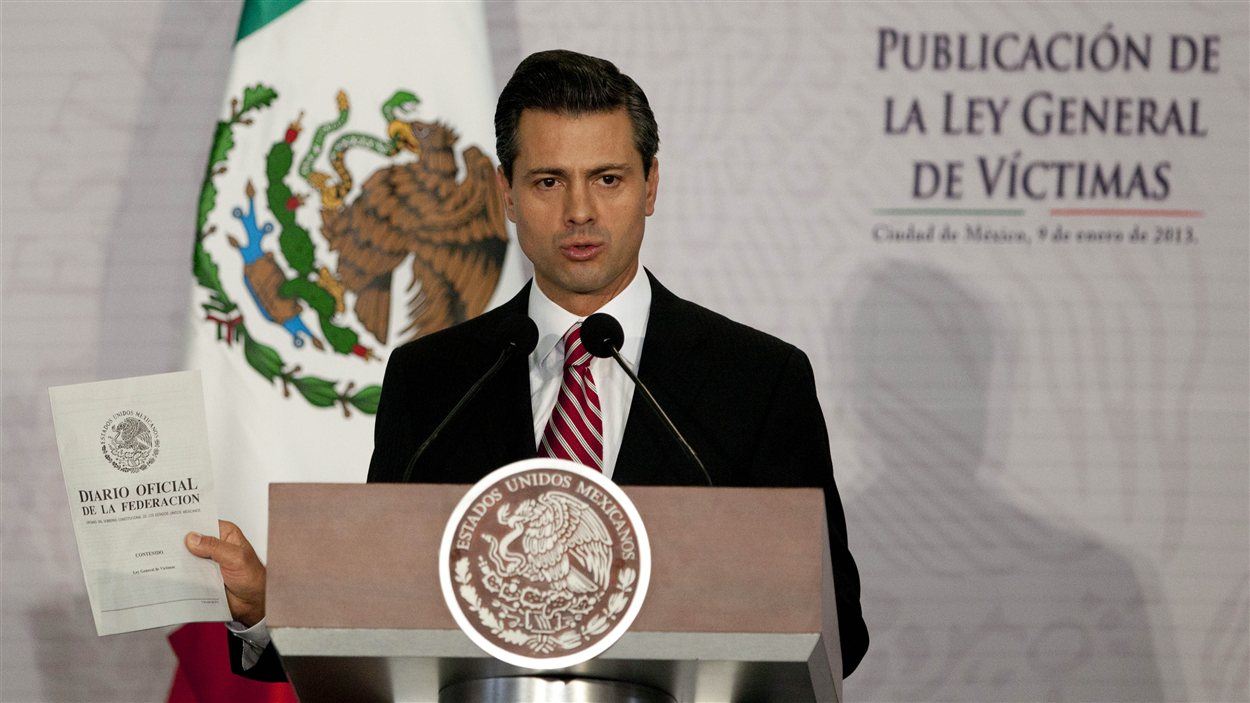 Enrique PeIna Nieto, président du Mexique