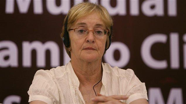 Maude Barlow, présidente nationale du groupe citoyen Conseil des Canadiens