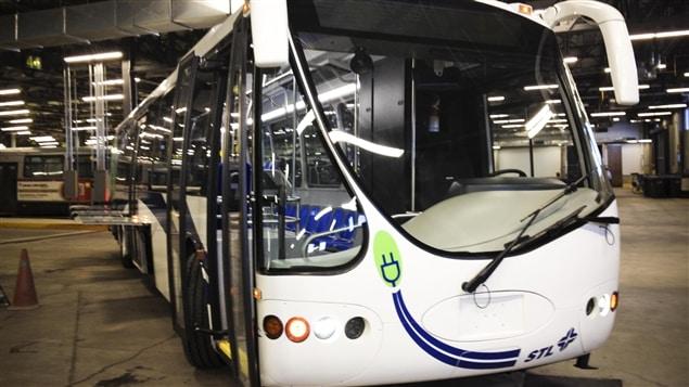Autobus électrique de la STL