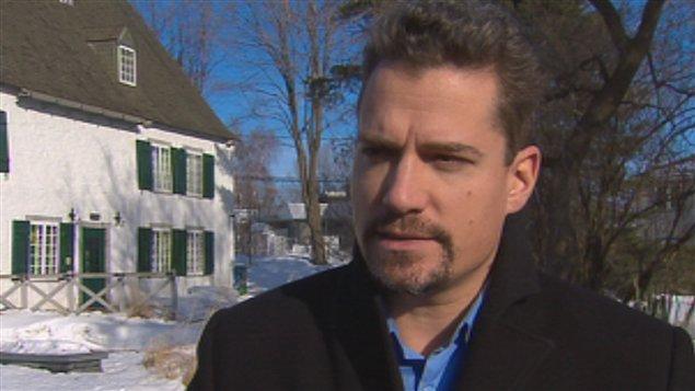 David Lemelin, chef de Québec autrement