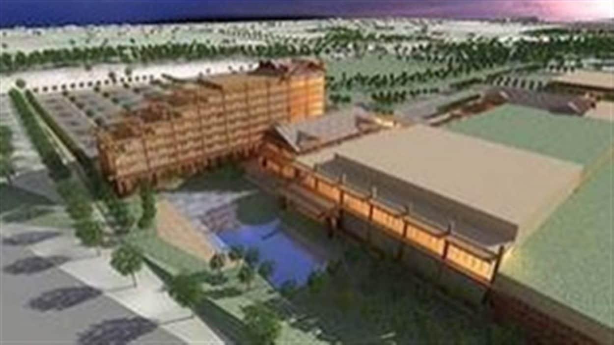 Le projet de casino à Surrey