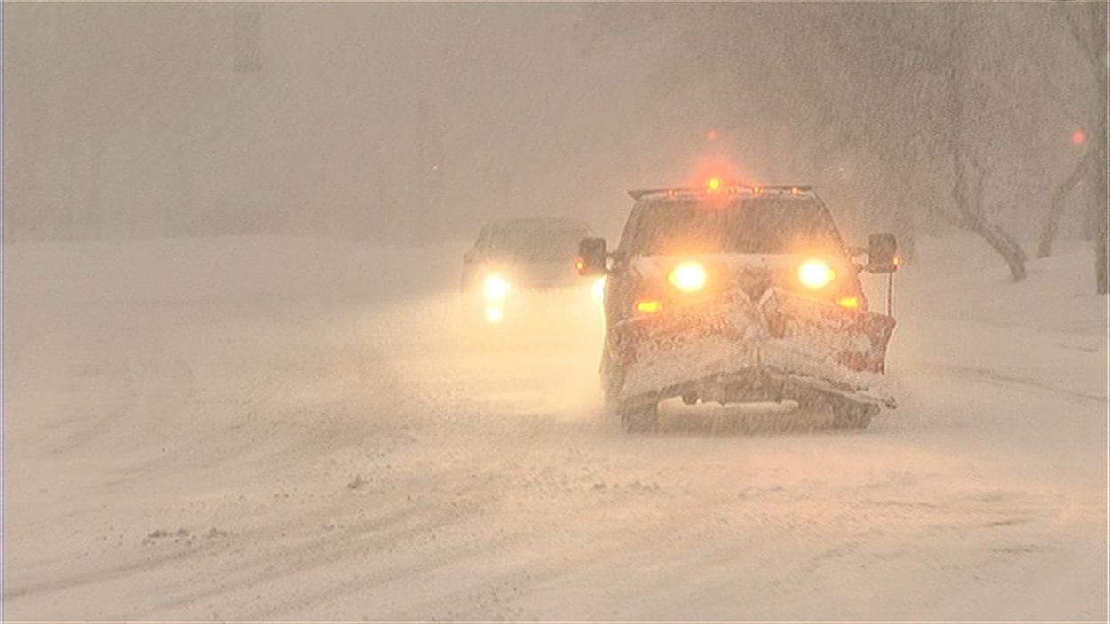 Conditions routières très difficiles au Québec