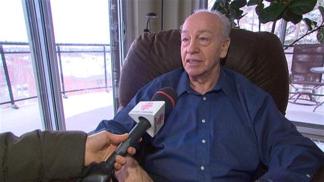 Gérard Potvin, ancien commentateur sportif à Radio-Canada