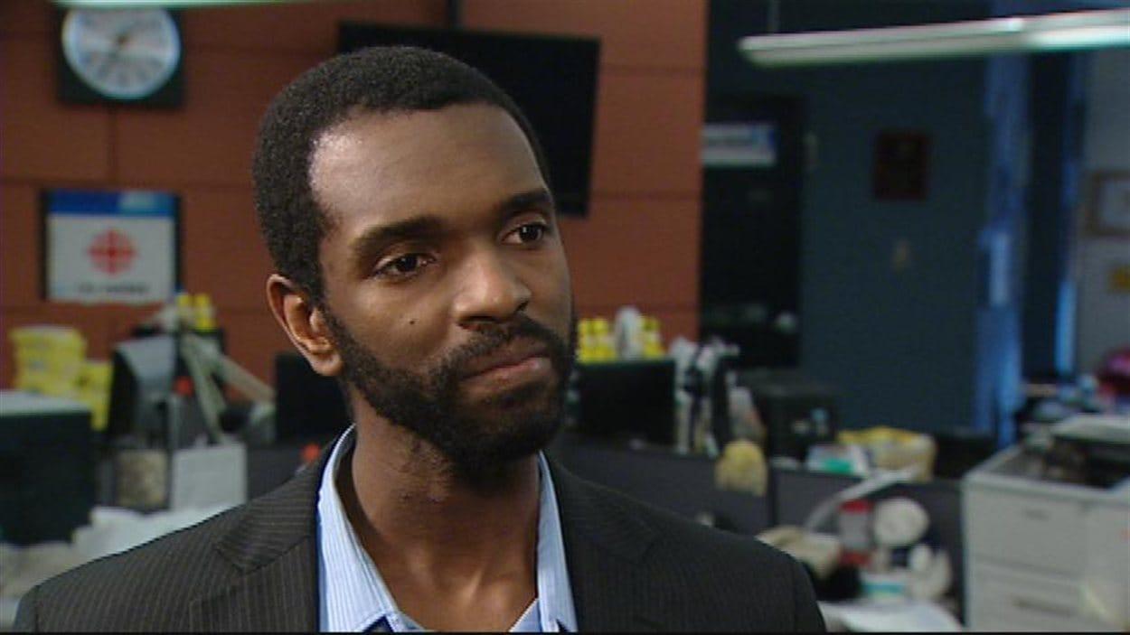 Donovan Martin, en entrevue à CBC Manitoba à Winnipeg, en janvier 2013.