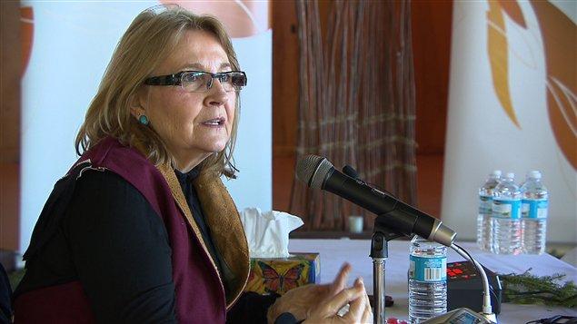 La commissaire Marie Wilson
