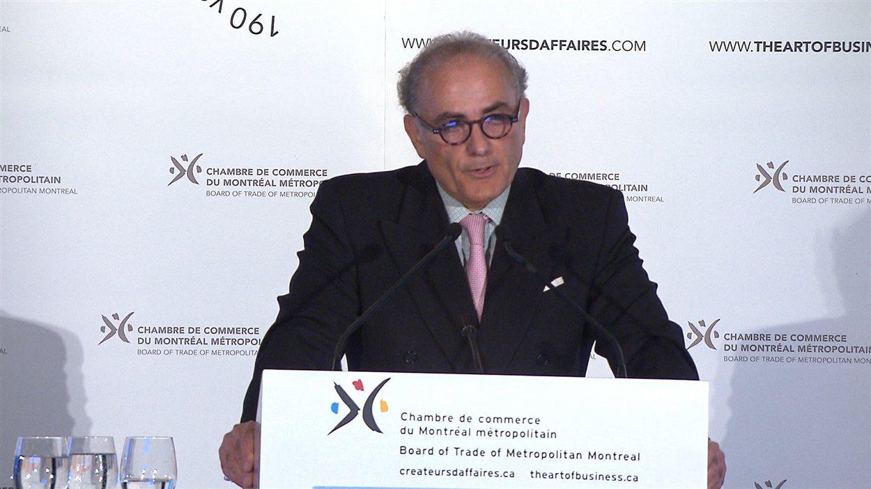Le PDG d'Air Canada, Calin Rovinescu