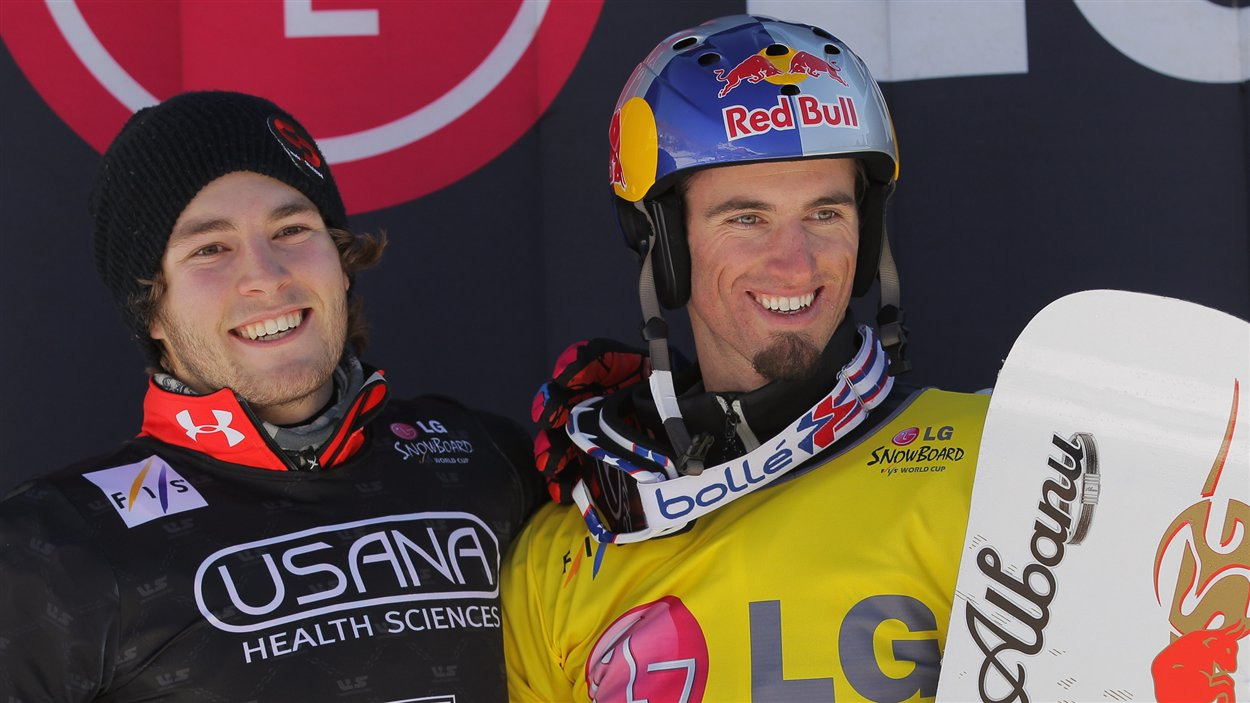 Christopher Robanske (gauche)
