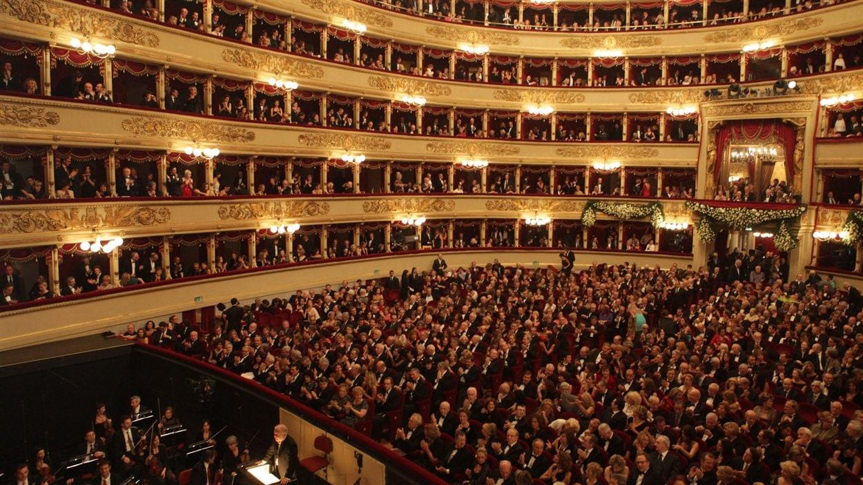 La maison d'opéra la Scala de Milan
