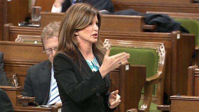 Rona Ambrose, ministre de la Condition féminine.