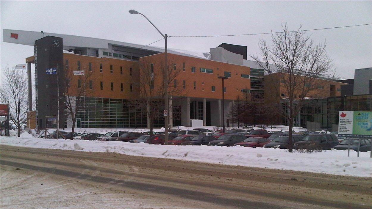 Le campus de Rouyn-Noranda de l'Université du Québec en Abitibi-Témiscamingue