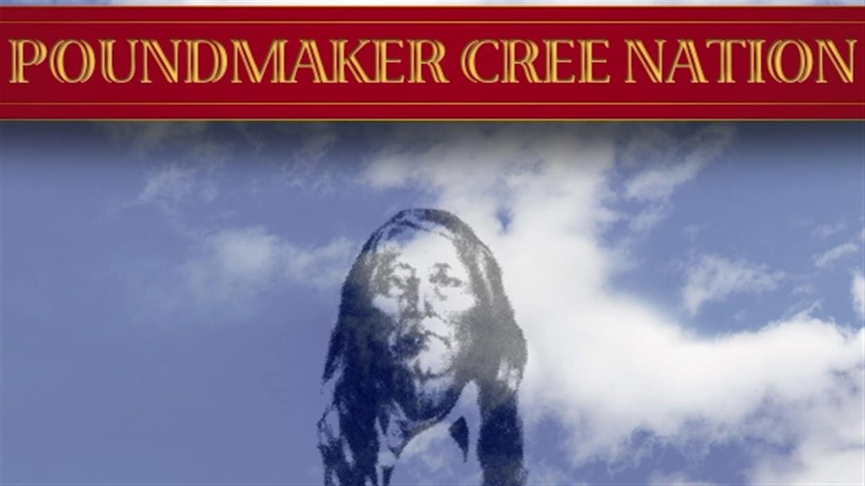 Logo de la bande indienne Poundmaker, en Saskatchewan