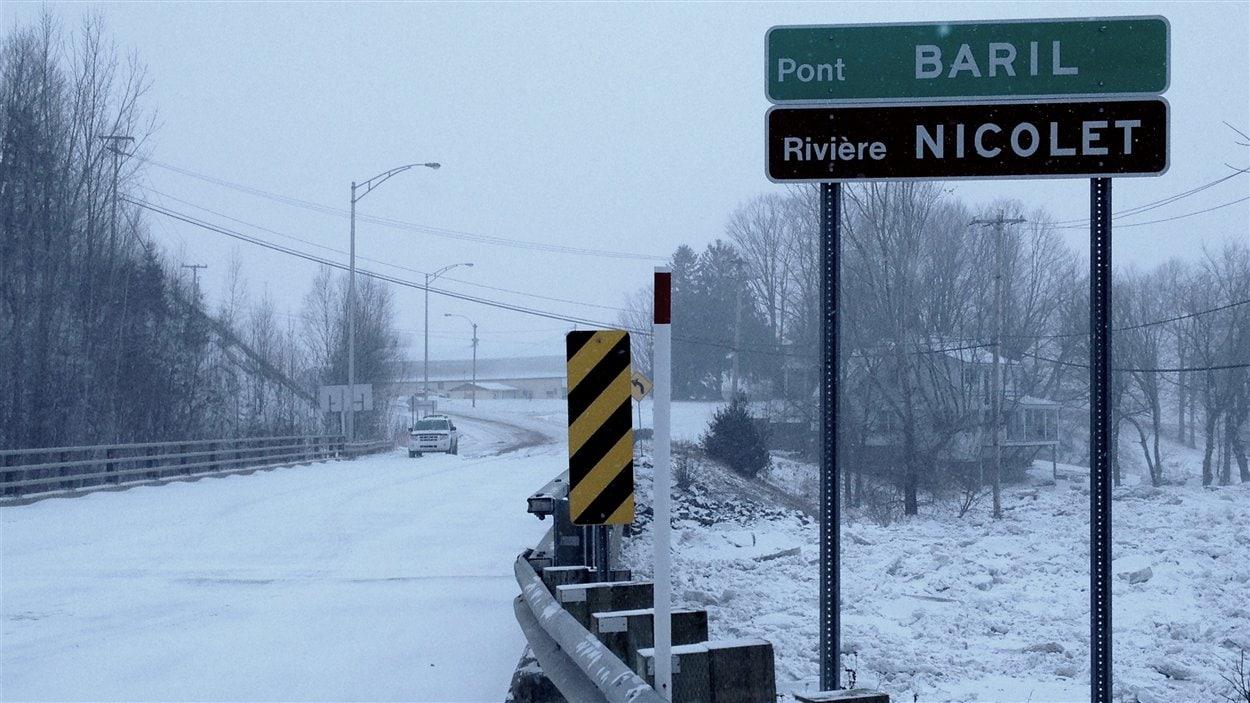 Le pont Baril à Victoriaville