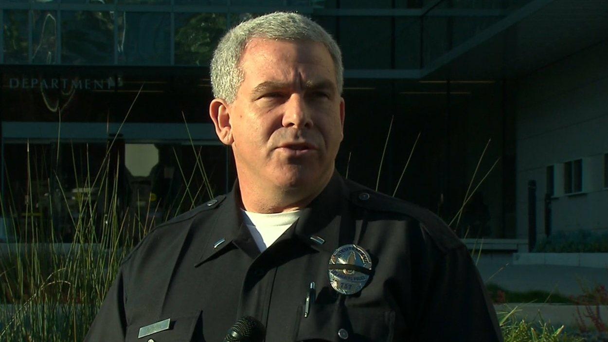 Le porte-parole de la police de Los Angeles, Andy Neiman