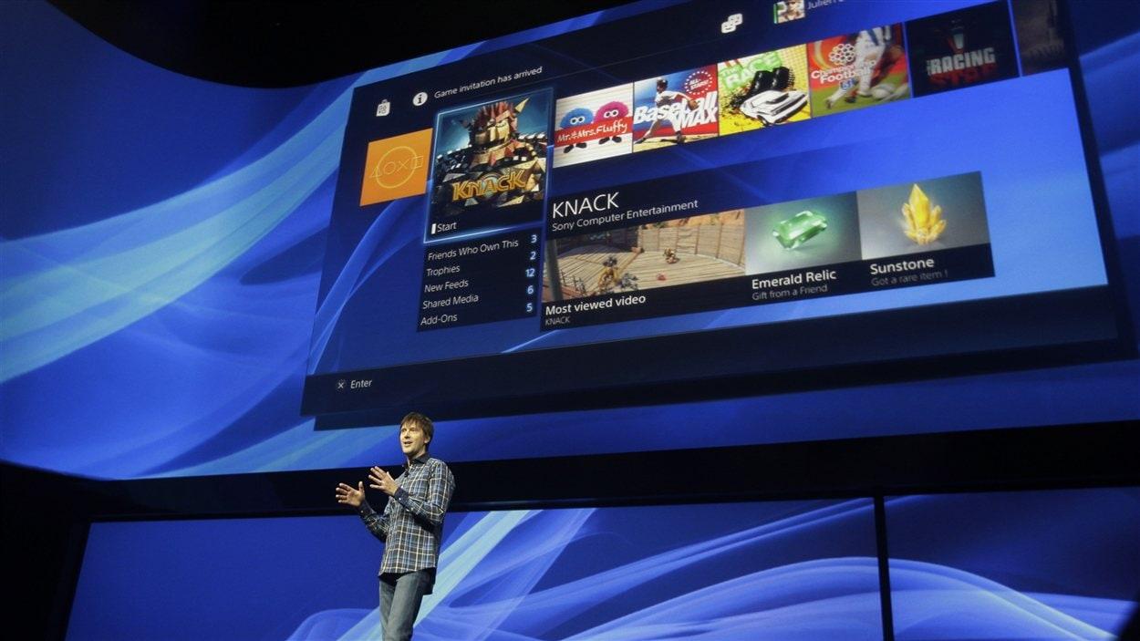 Mark Cerny, le concepteur de la Playstation 4, présente la nouvelle console