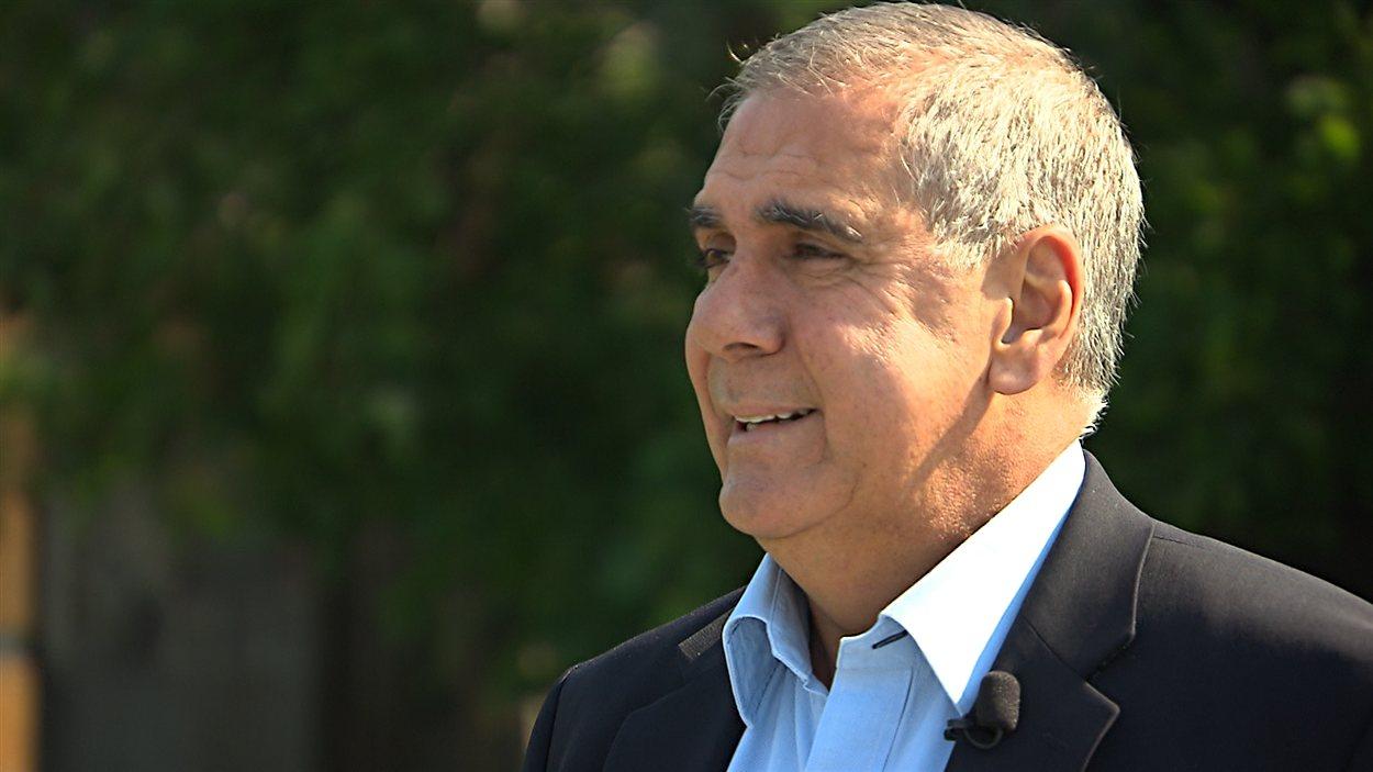 Luis Miranda, maire de l'arrondissement d'Anjou, à Montréal