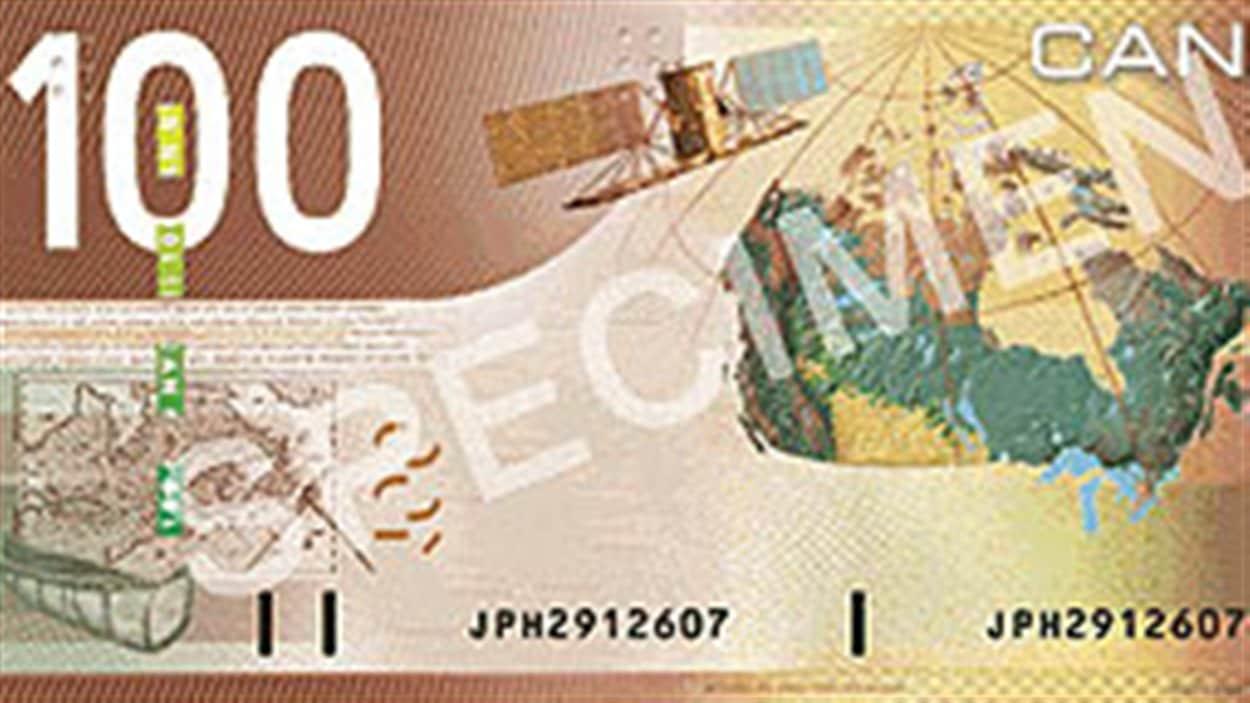 Un billet de 100 $