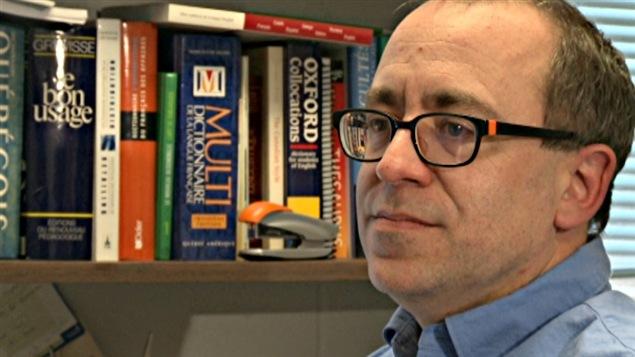 Patrick Drouin, linguiste.