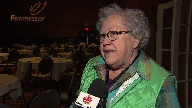 L'ex-députée Suzanne Tremblay au colloque Femmessor